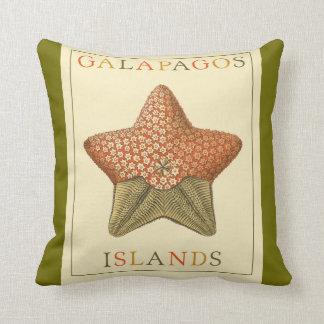 Galapagos Islands Throw Pillow