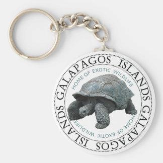 Galapagos Islands Tortoise Key Chain
