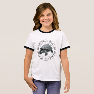 Galapagos Islands Tortoise Kids tee