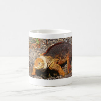 Galapagos Land Iguana Coffee Mug