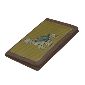 Galapagos Tortoise Trifold Wallets