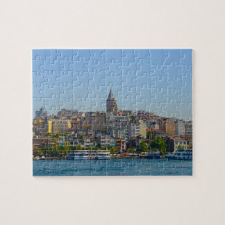 Galata Tower in Istanbul Turkey Jigsaw Puzzle