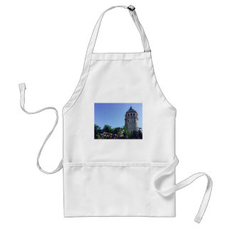 Galata Tower Inspired Standard Apron