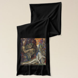 Galatea, Watercolor Art by Gustave Moreau Scarf