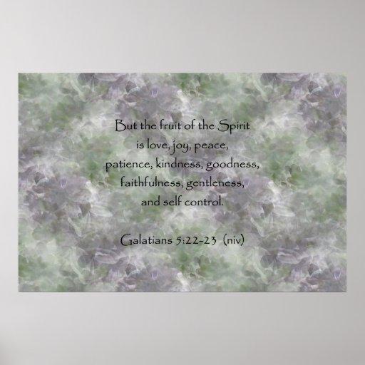 Galatians 5:22-23 ~ Fruit of the Spirit Print