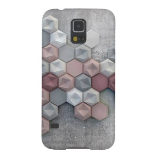 Galaxie architecturale S5 de Samsung d'hexagones Protections Galaxy S5