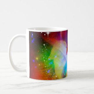 Galaxie d'ange mug blanc