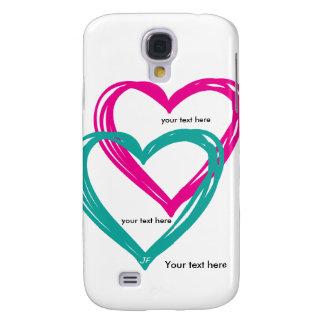 """""""galaxie S4 de Samsung du coeur 2"""", à peine là Coque Galaxy S4"""