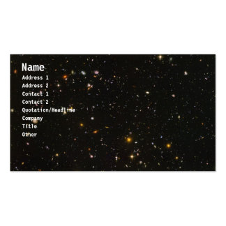 Galaxies Double-Sided Standard Business Cards (Pack Of 100)