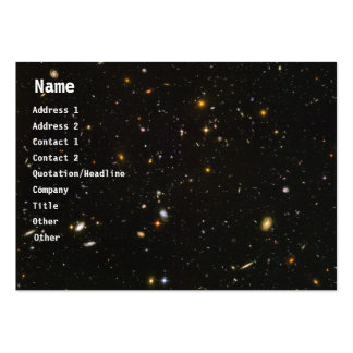 Galaxies Pack Of Chubby Business Cards