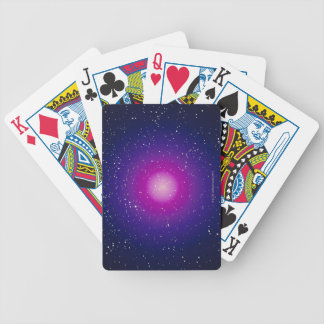 Galaxy 3 bicycle playing cards