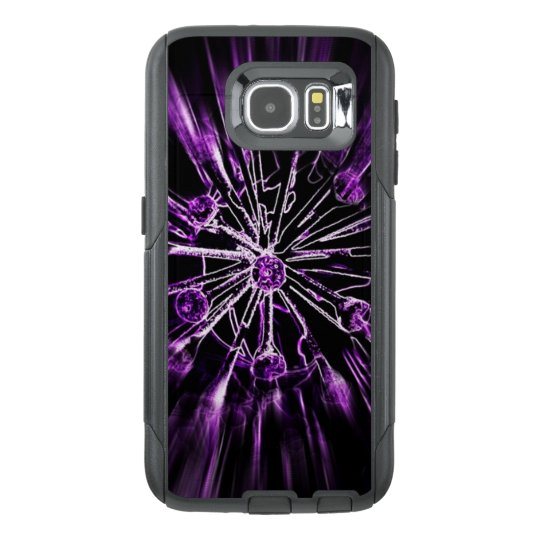 Galaxy 6S Otterbox purple explosion tough case