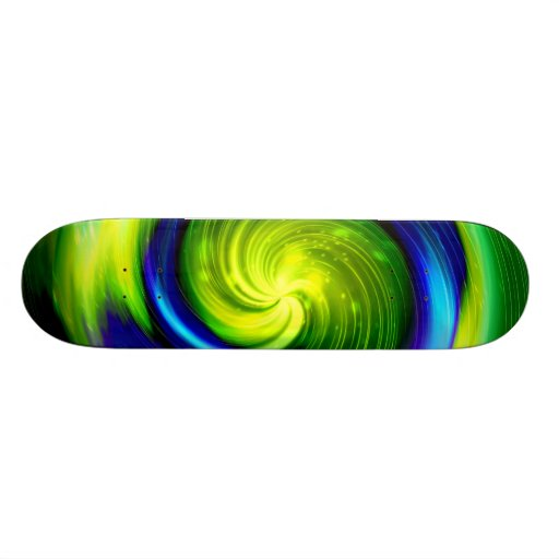 Galaxy Abstract Art 3 Custom Skate Board