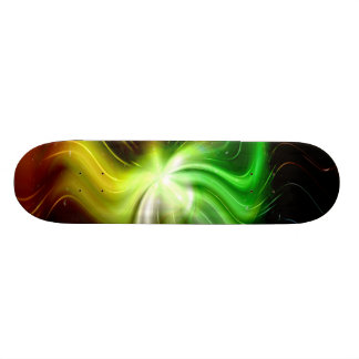 Galaxy Abstract Art 7 Skate Board