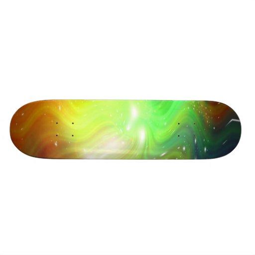 Galaxy Abstract Art 8 Skate Deck