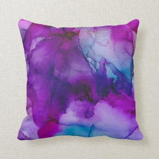 Galaxy Abstract Throw Pillow