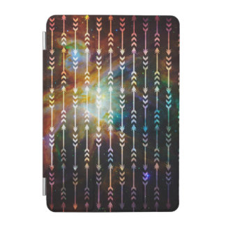 Galaxy Arrows Pattern Space Tribal Geometric iPad Mini Cover