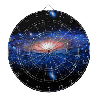 Galaxy Art Dartboard