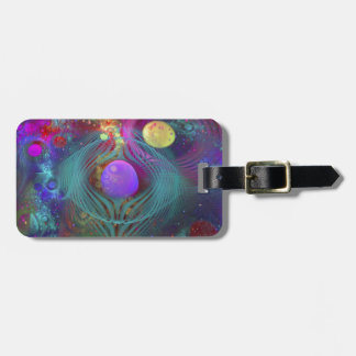 Galaxy Art Luggage Tag