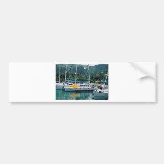 Galaxy at Nanny Cay-Tortola Bumper Sticker