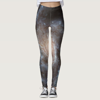 Galaxy Black Gold Yoga Pants