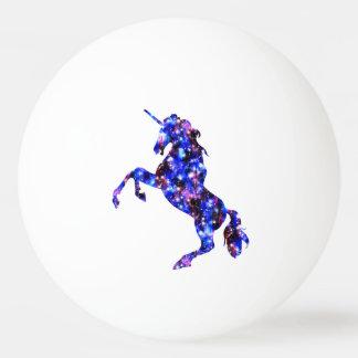 Galaxy blue beautiful unicorn starry sky image ping pong ball