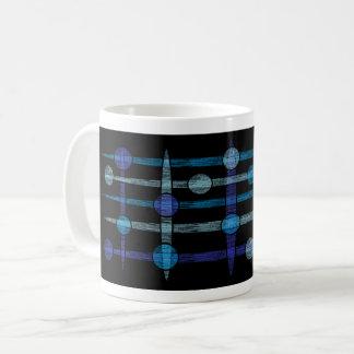 galaxy blue coffee mug