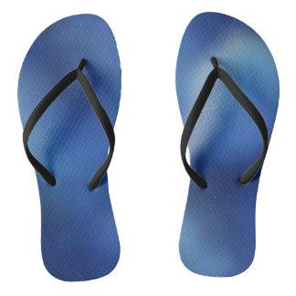 Galaxy Blue Flip Flops