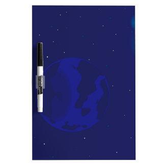 Galaxy Blur Dry Erase Board