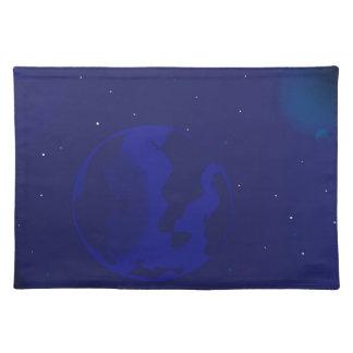 Galaxy Blur Placemat