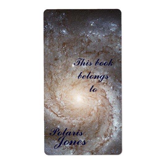Galaxy  Bookplate