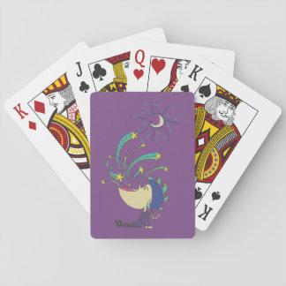 Galaxy Boy Playing Cards