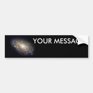 Galaxy Car Bumper Sticker