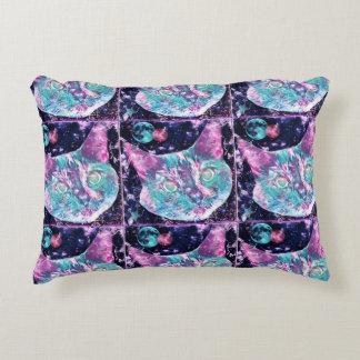 Galaxy Cat Accent Pillow