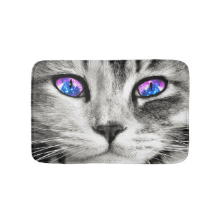 Galaxy Cat Bath Mat