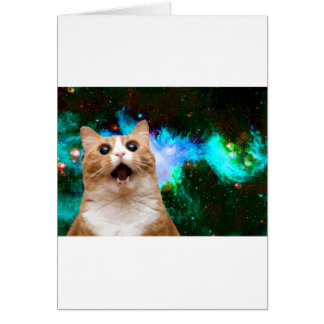 GALAXY CAT CARD
