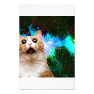 GALAXY CAT CUSTOM STATIONERY
