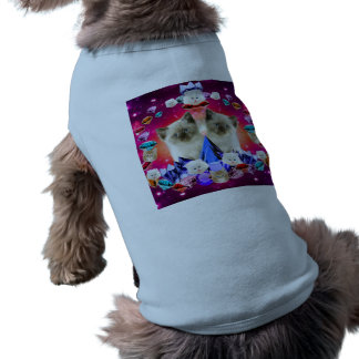 galaxy cat in diamond dog tshirt