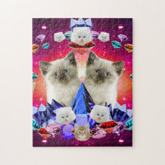 galaxy cat in diamond puzzle