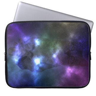 Galaxy Cat Neoprene Laptop Sleeve 15 inch