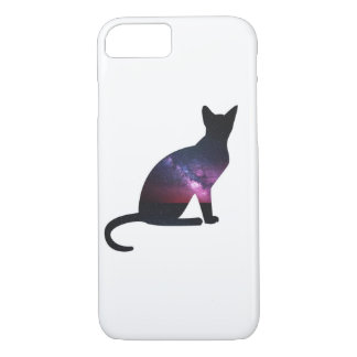 Galaxy Cat Phone iPhone 8/7 Case