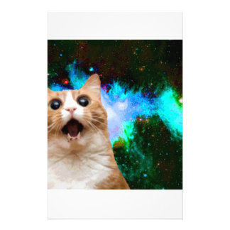 GALAXY CAT STATIONERY DESIGN