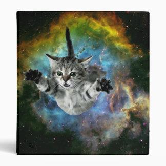 Galaxy Cat Universe Kitten Launch Binders