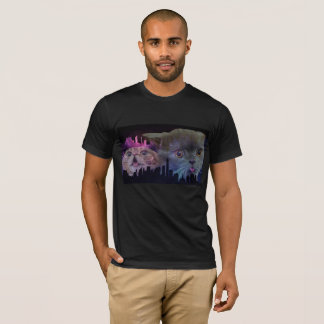 Galaxy Cats Cityscape T-Shirt