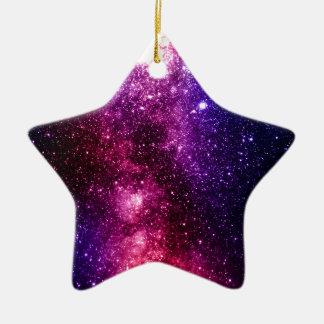 Galaxy Ceramic Star Ornament