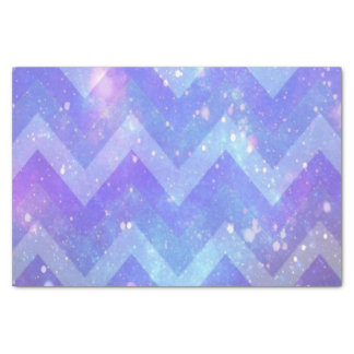 Galaxy Chevron 10lb Tissue Paper