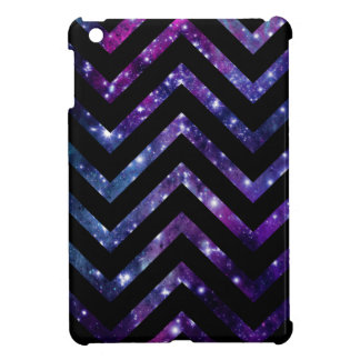 Galaxy Chevron Black iPad Mini Covers