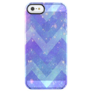 Galaxy Chevron iPhone SE/5/5s Clearly™ Case