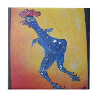 Galaxy chicken tile