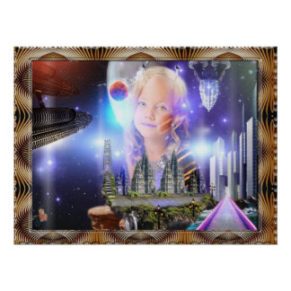 Galaxy Child Posters